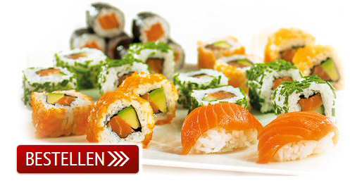 Bestell-Lieferservice-Sushi